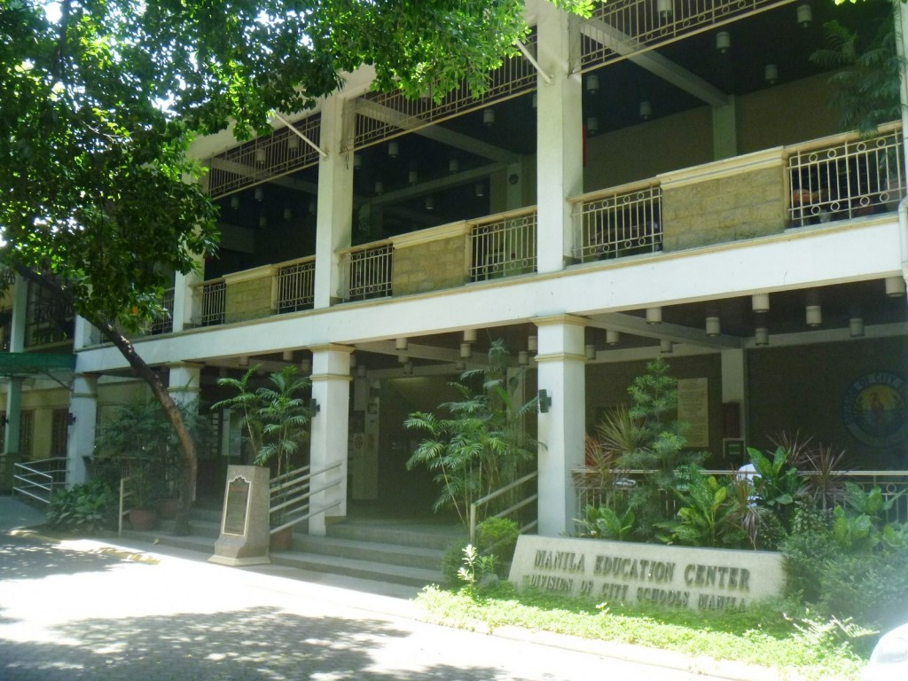 The ill-conceived Manila Education Center