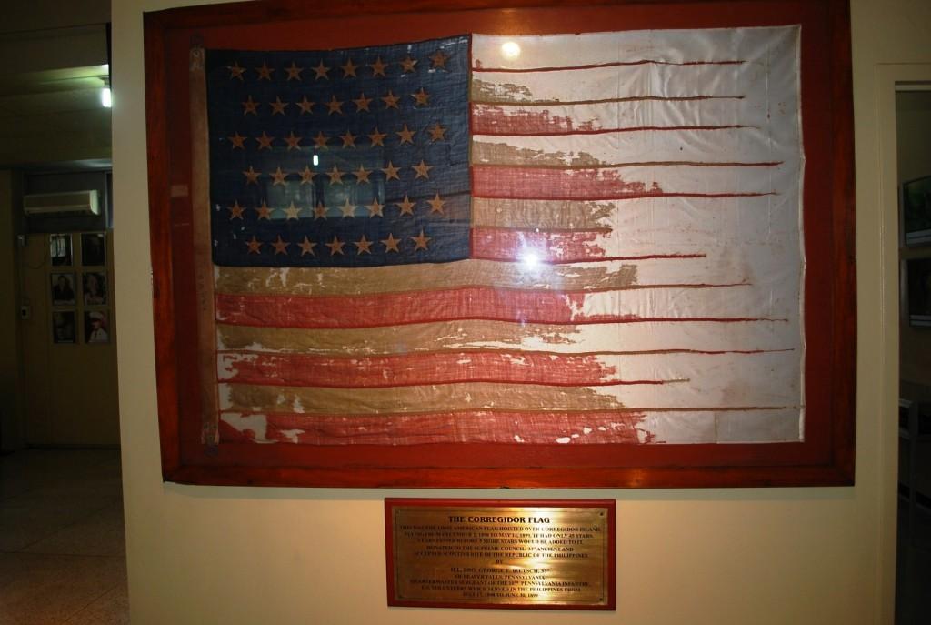 A 45-star American flag