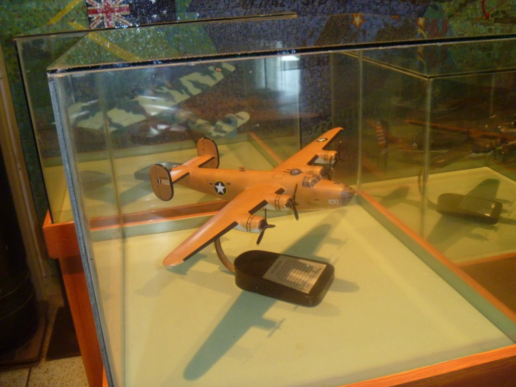 Model of B-24 Liberator