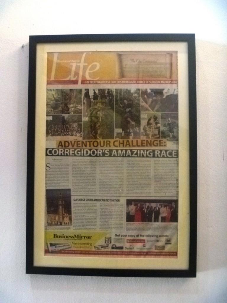Adventour Challenge: Corregidor's Amazing Grace