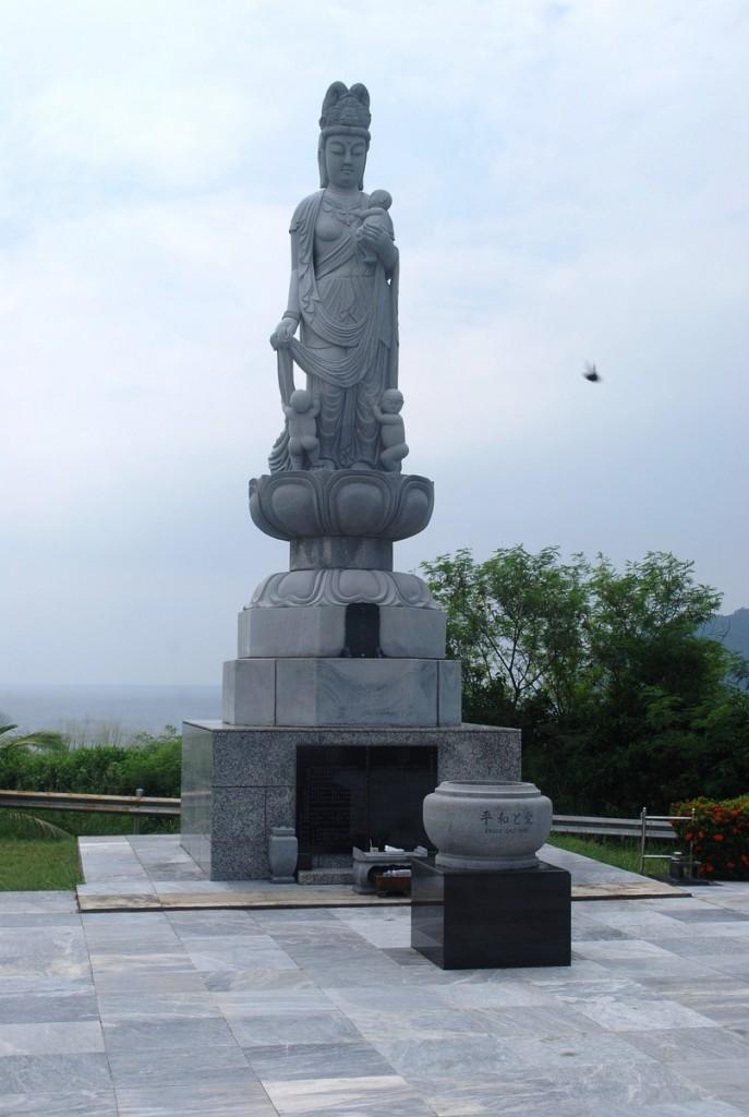 The Jibo-Kannon stone Buddha