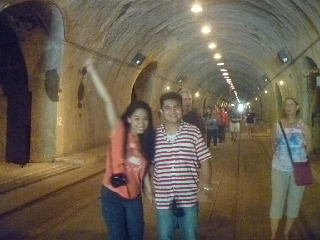 Cheska and Marve at Malinta Tunnel
