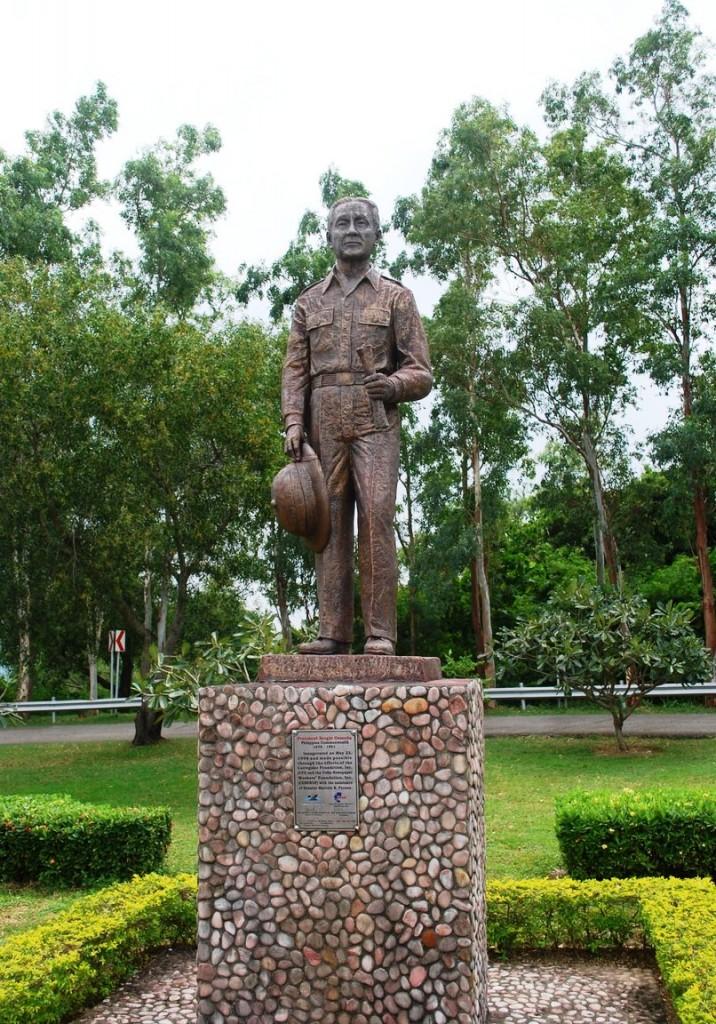 Statue of Pres. Sergio Osmena
