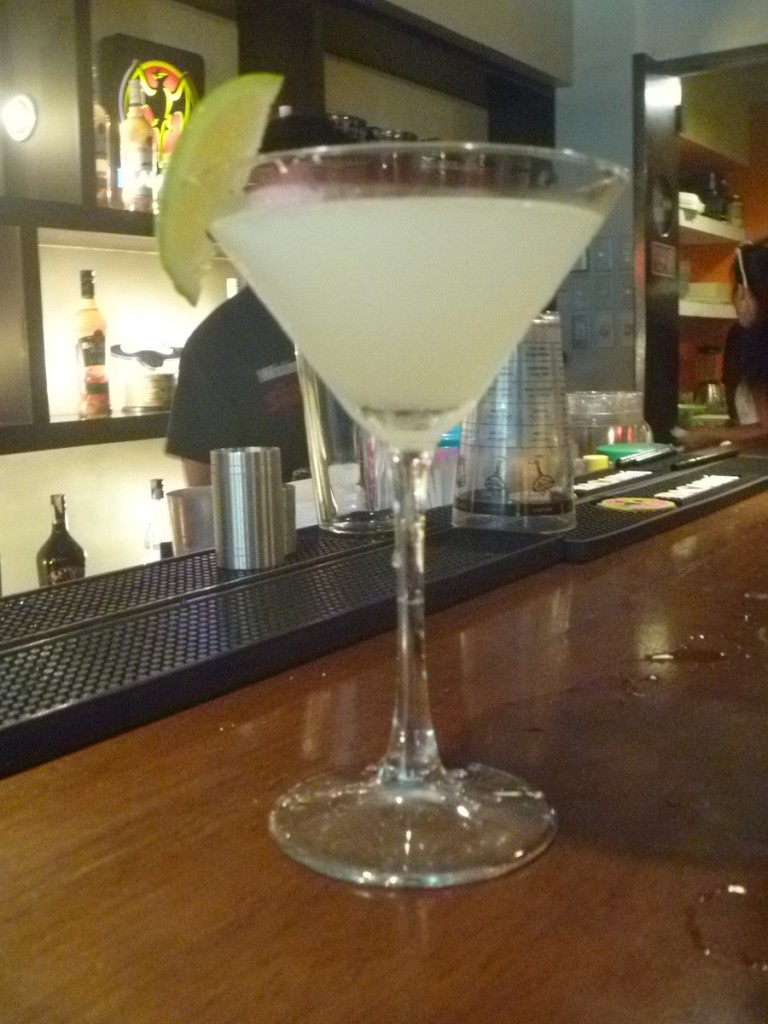 The daquiri prepared by Anthony