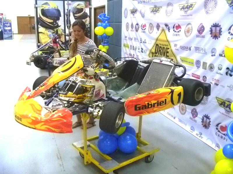"Go Kart of Gabriel ""Gabe"" Tayao Cabrera"