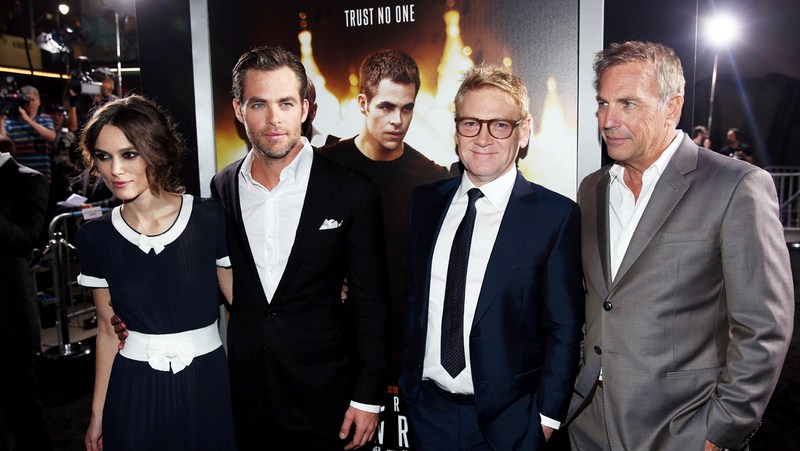 The cast at the movie's premiere