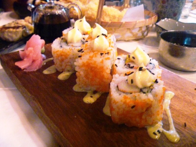 Salmon and Cream Cheese Maki