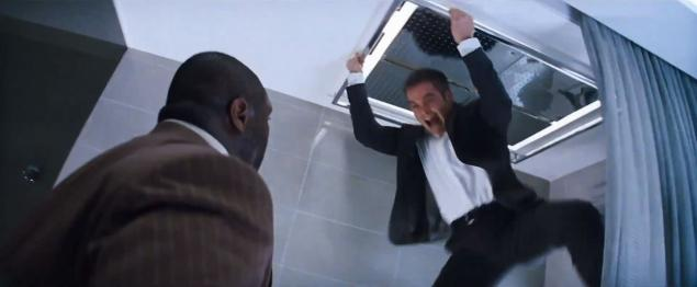 Ryan battles assasin Embee (Nonso Anozie)