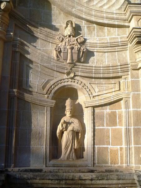 A statue niche
