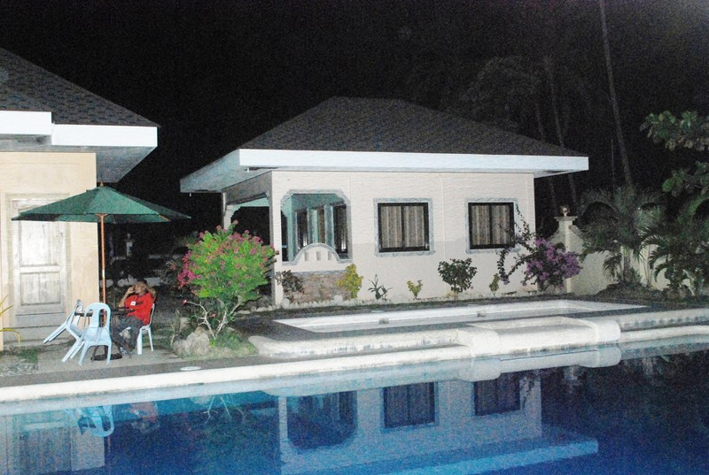 One of the resort's cottages