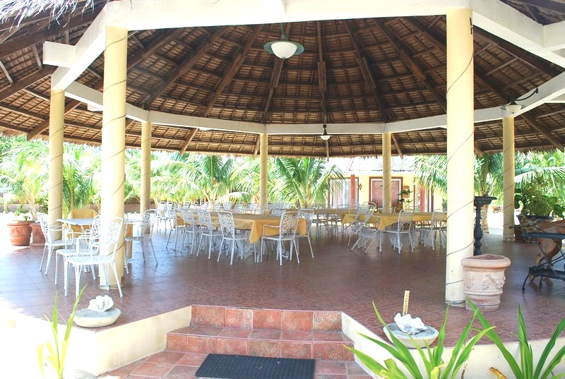 Open social hall