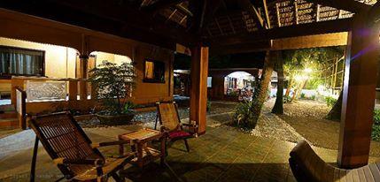 Pandan Beach Resort's classy interiors