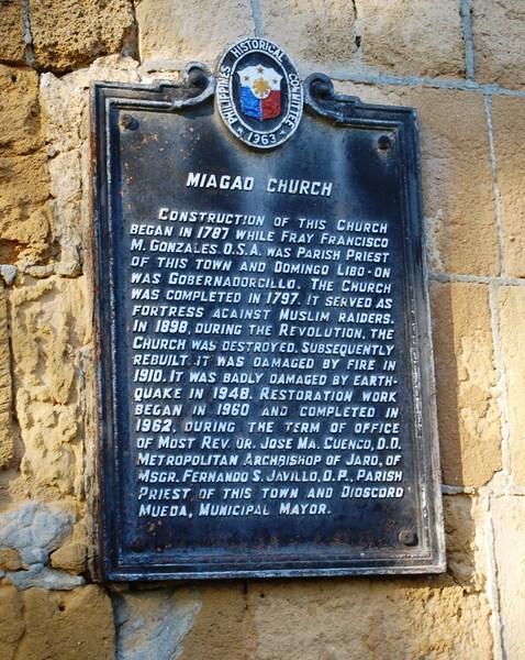Plaque (Philippine Historical Committee)