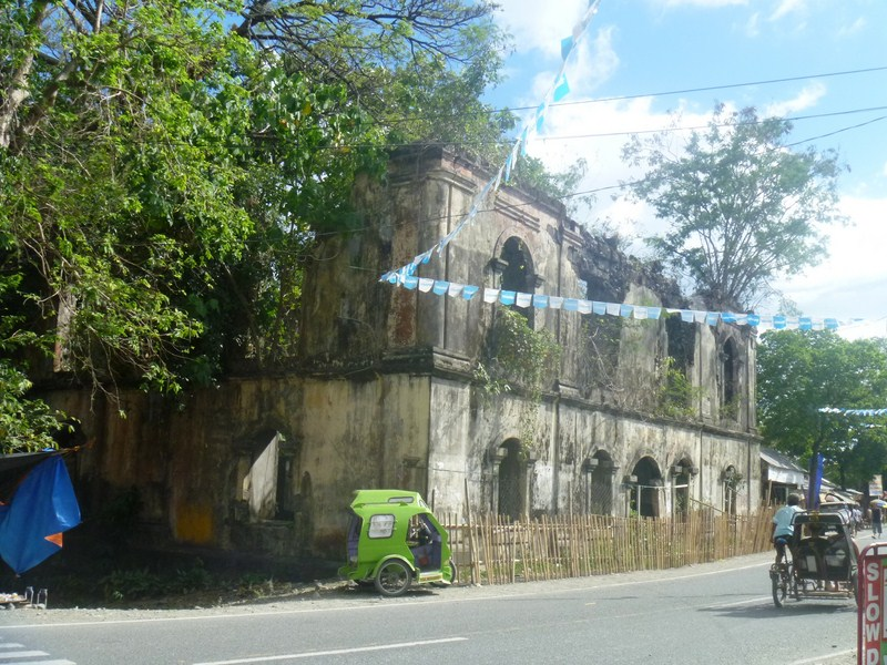 Ruins of Spanish-era municipal hall