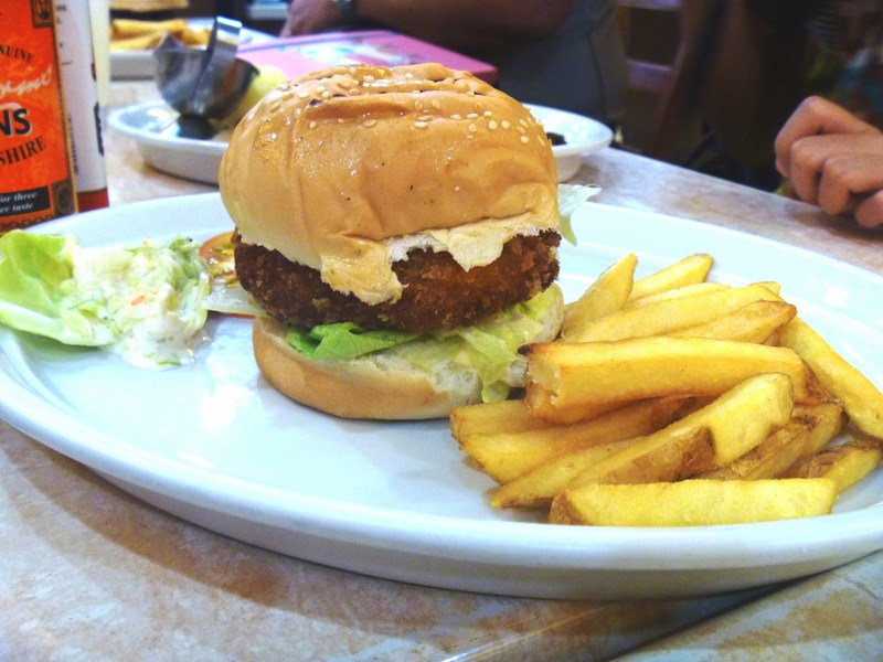 Sea Burger with Fries (3)