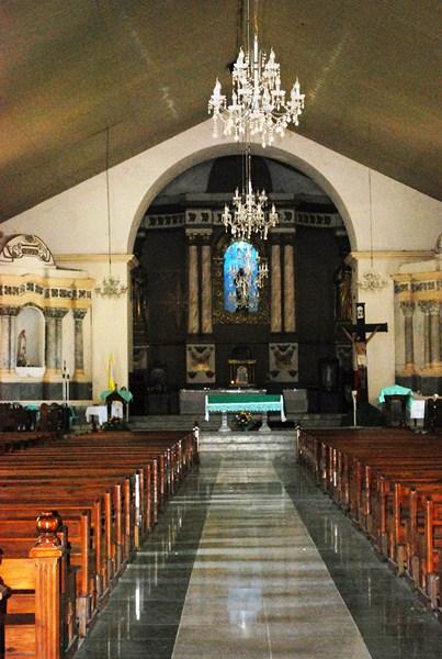The church's interior