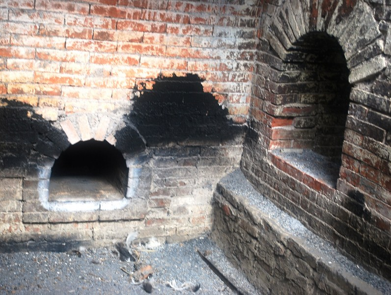 The drying kilns
