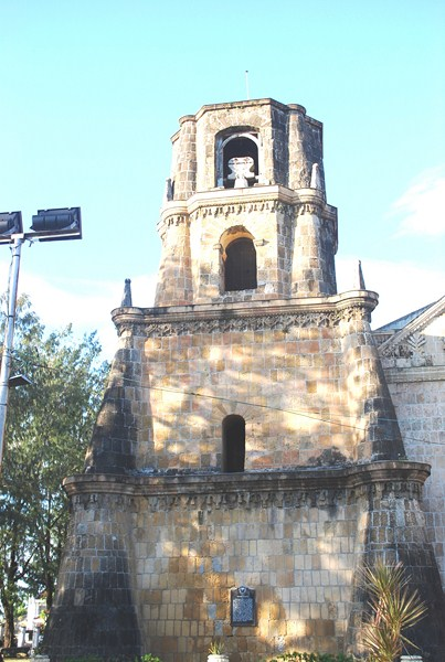 The left bell tower