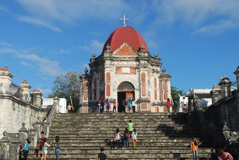 The iconic mortuary chapel of Campo Santo