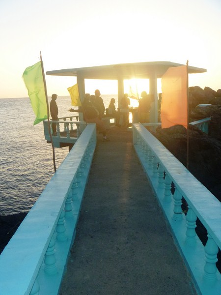 The view deck at Pucio Point