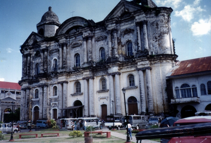 Taal's Basilica of St. Martin of Tours, the largest in the Far East