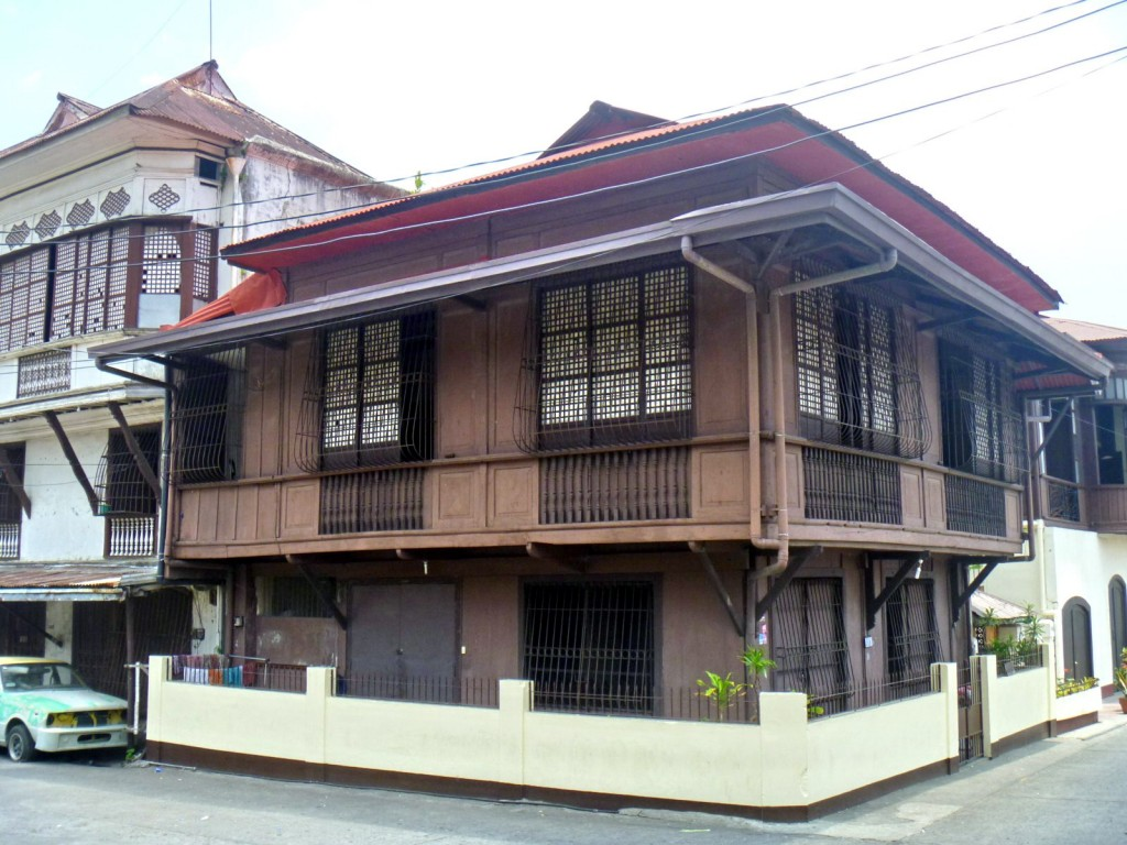 Casa Punzalan.  We stayed at the second floor corner room.  We survived the night.