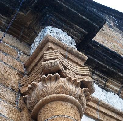 Detail of Corinthian capital