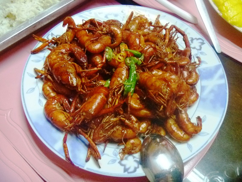 Freshwater shrimps