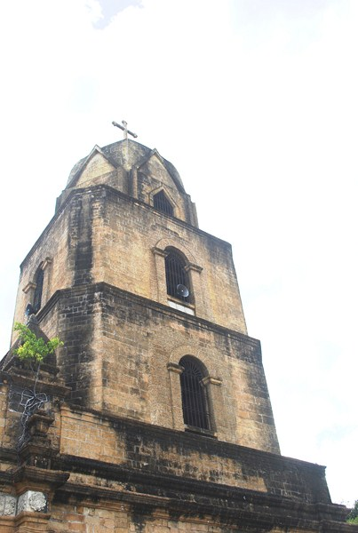 The 4-storey bell tower