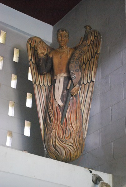 A sculpture of Benjamin VValenciano