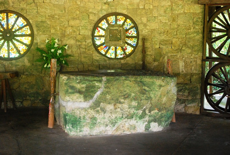 The chapel's altar