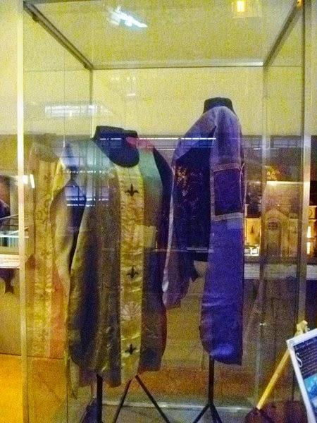Fr. Eusebio Locsin vestments