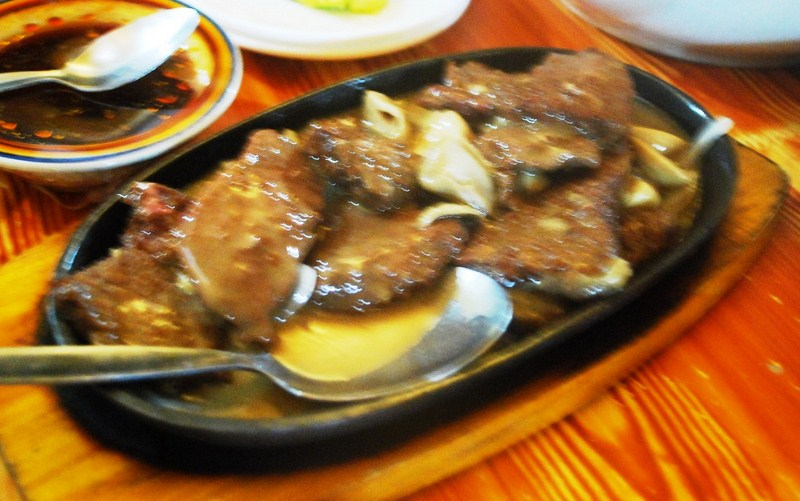 Ostrich with Mushroom Sauce