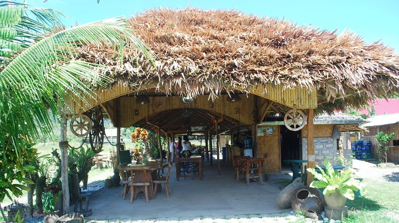 The native-style restaurant