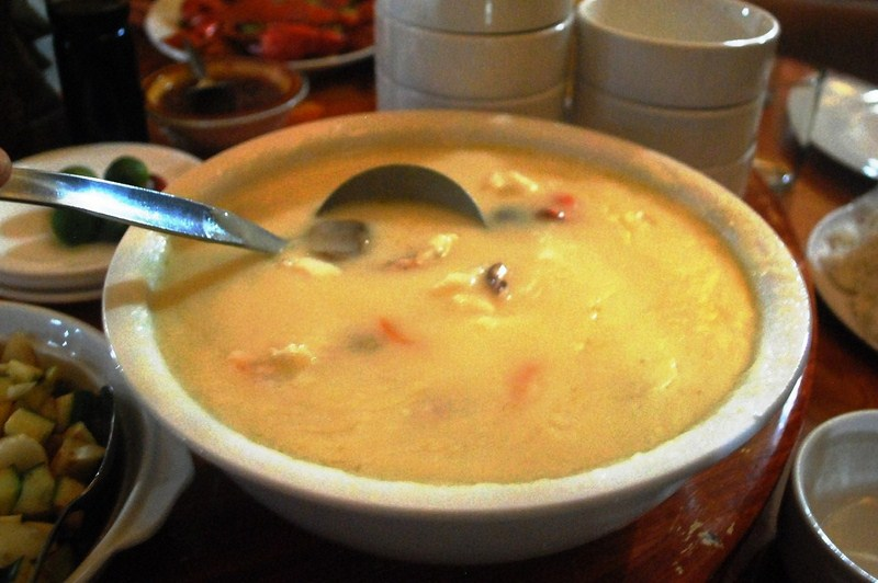 Seafood Cream Soup