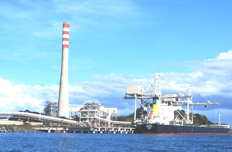 The Team Energy coal-fired thermal power plant