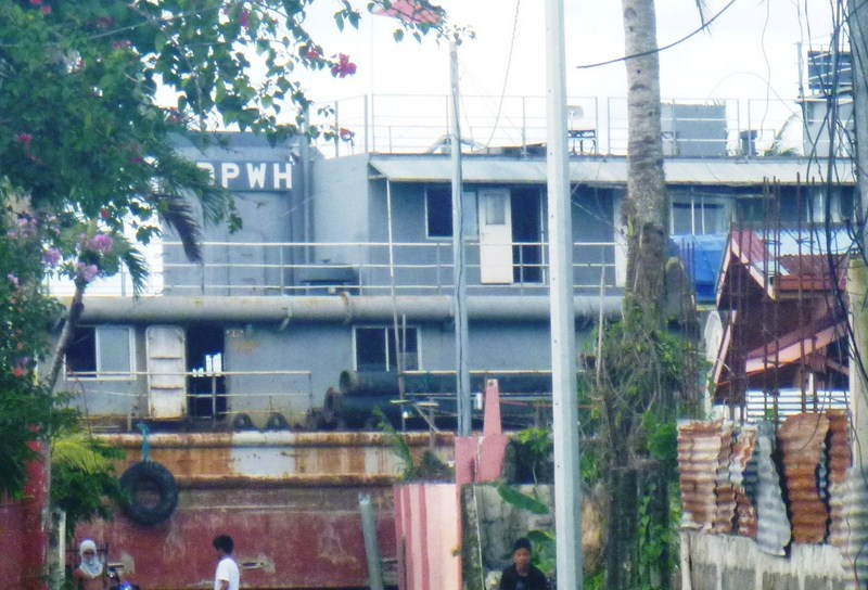 The DPWH Barge