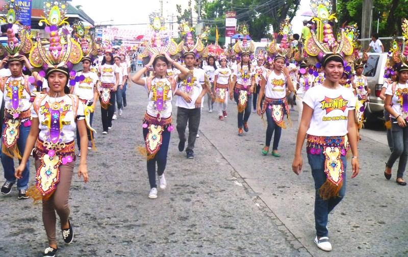 The Sangyaw Pasasalamat Parade