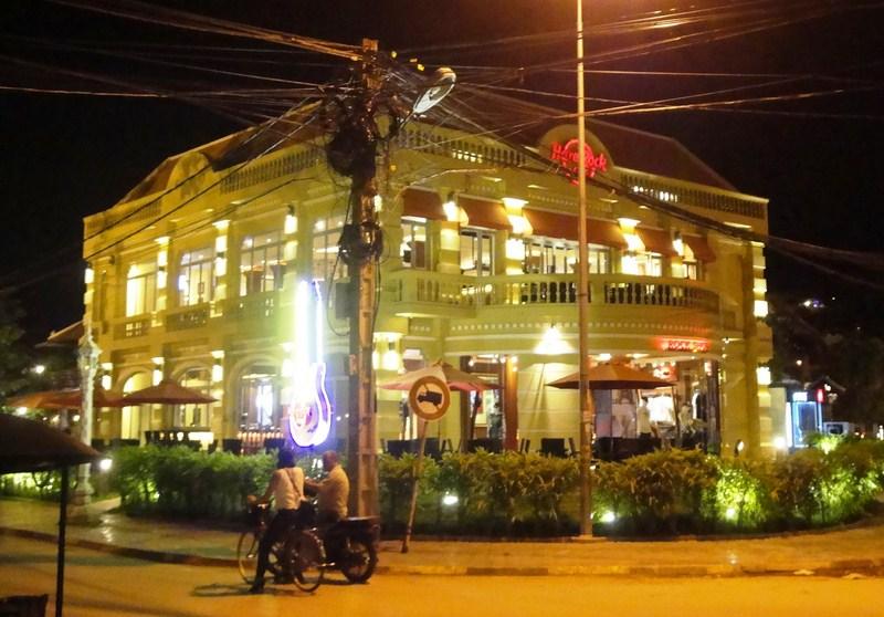 Hard Rock Cafe Angkor - Cambodia's first