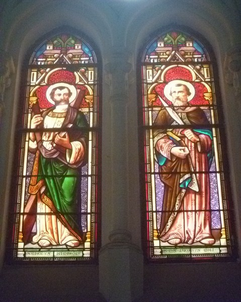 Italian stained glass windows