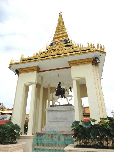 King Norodom's Statue