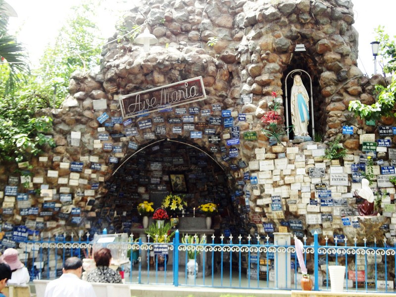 The popular Ave Maria prayer spot