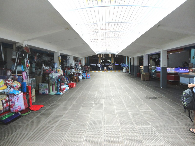 The market interior
