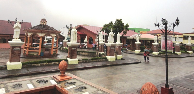The church's patio