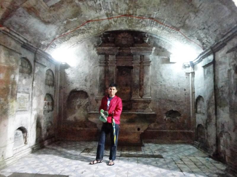 The underground crypts
