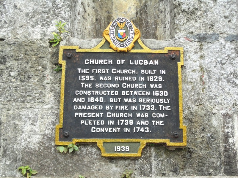Plaque installed by Philippine Historical Commission in 1939