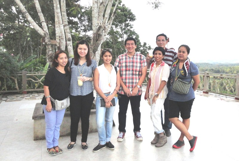 Media team with CHAP Managing Director Mr. Jing E. Velasco (center)