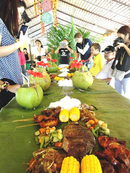 Our boodle feast