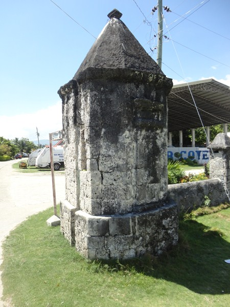 A garita (guardhouse)