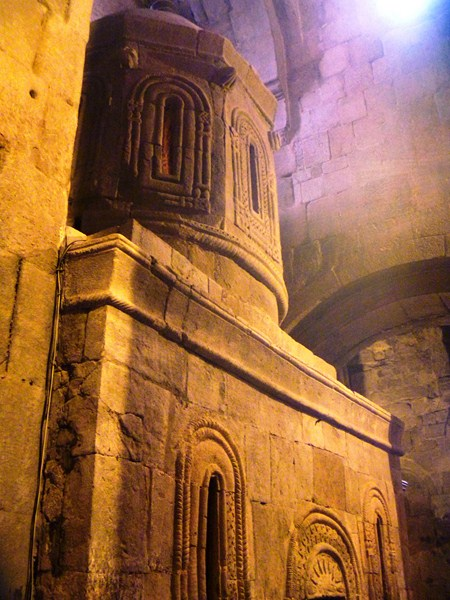 A symbolic replica of the Chapel of Holy Sepulchre in Jerusalem